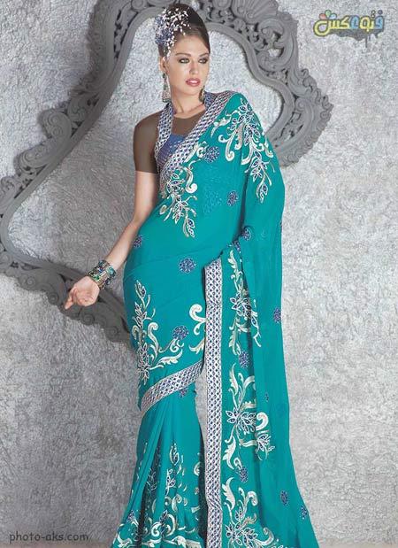 مدل لباس هندی ساری مجلسی india prome dress