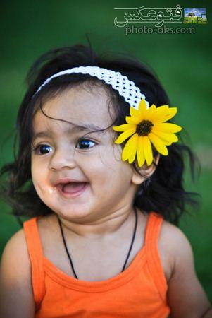 دختر بچه هندی بامزه indian baby girl