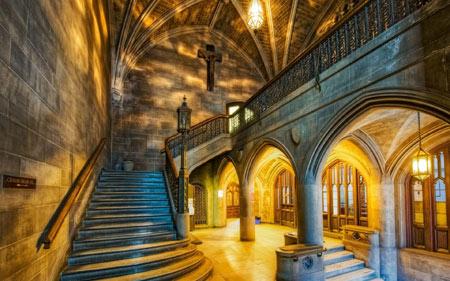 عکس نمای داخلی کلیسا interior of church