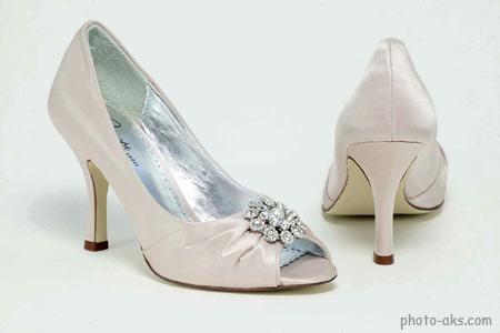 مدل کفش عروس سفید kafsh aroos sefid
