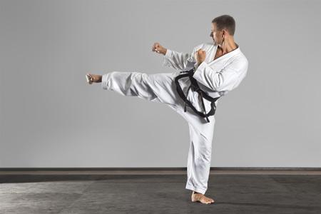 پوستر ورزش رزمی کاراته karate man sport