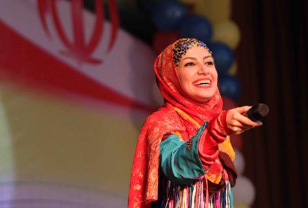 عکس خاله شادونه مجری برنامه کودک aks khale shadoneh