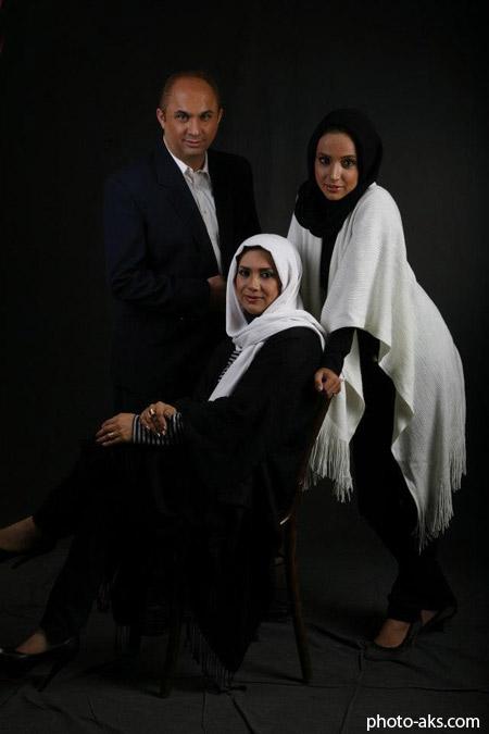 عکس خانوادگی شبنم قلی خانی shabnam golikhani family