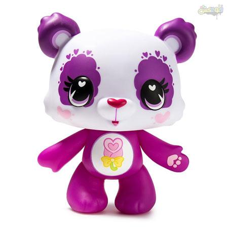 عکس پاندا عروسکی بامزه khers panda badkonaki