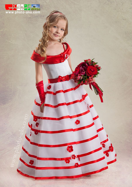 مدل لباس مجلسی دختر بچه ها lebas shab dokhtaraneh