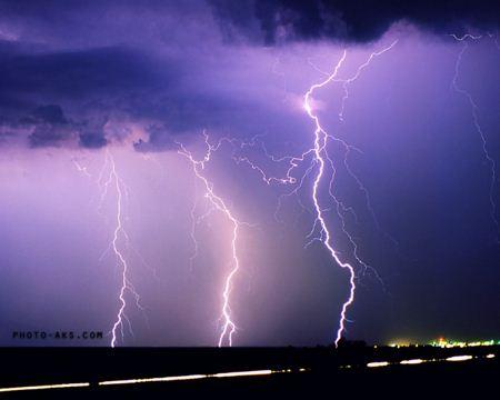 تصویر رعد و برق lightning photo