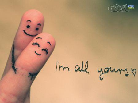 عکس عاشقانه انگشت ها lovly fingers