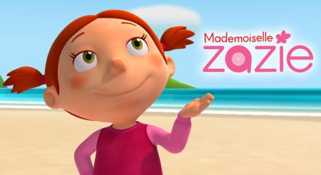 کارتون زازی و دوستان mademoiselle zazie