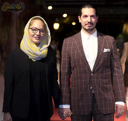 مهناز افشار و همسرش hamsar mahnaz afshar