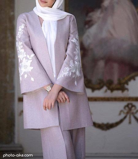مانتو عید 99 کوتاه model manto shik eid