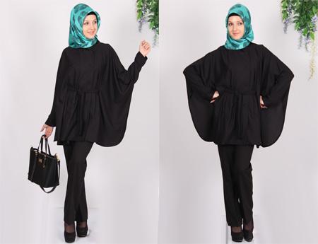 مدل مانتو عبایی اسلامی کوتاه manto eslami kotah