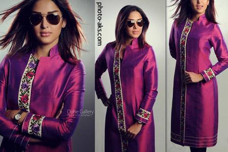مانتو ساتن ایرانی model manto irani