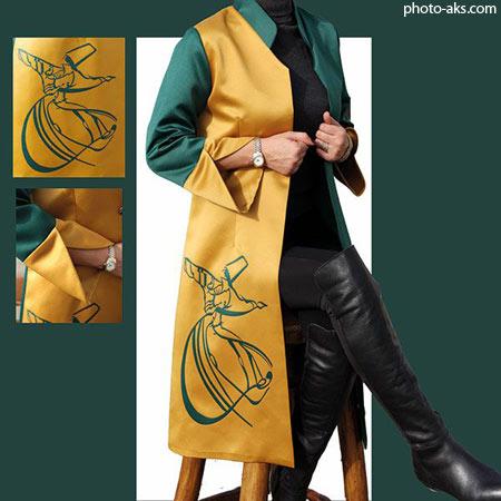 مانتو جدید با طرح ایرانی manto irani jadid