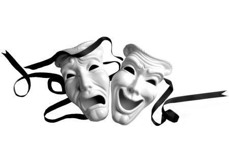 ماسک شاد و غمگین تئاتر mask theater