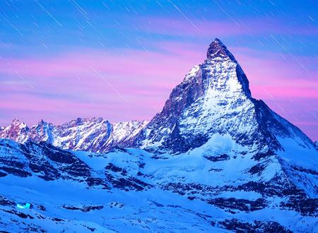 عکس کوه ماترهورن در آلپ matterhorn mountain