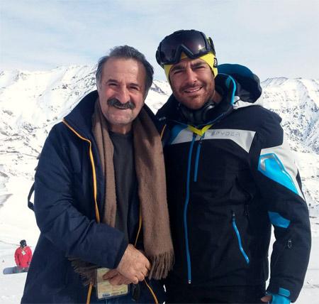 گلزار و مهران رجبی در دیزین mehran rajabi golzar