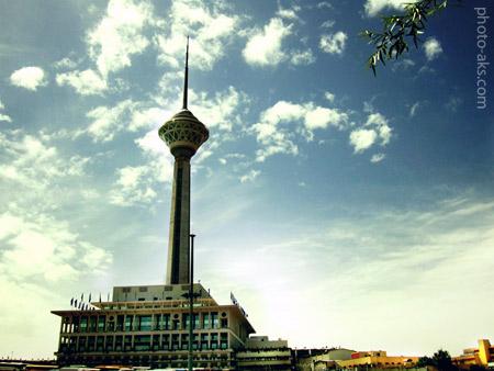برج میلاد milad tower