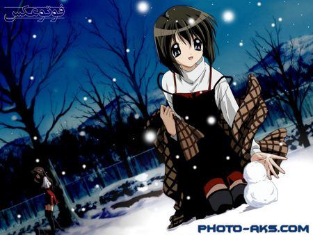 والپیپر کارتونی فانتزی ژاپنی cartoon anime