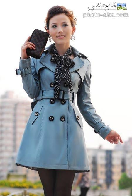 مانتو کوتاه آبی آسمانی model manto kotah abi
