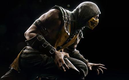 نینجا در بازی مورتال کامبت ایکس ninja mortal kombat