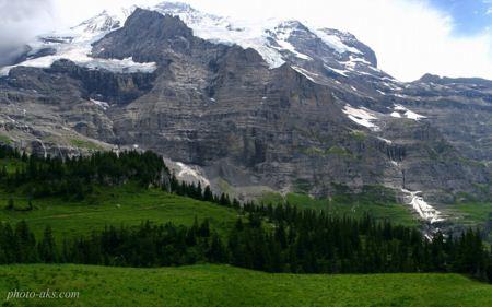 منظره کوهستانی مرتفع زیبا mountain nature