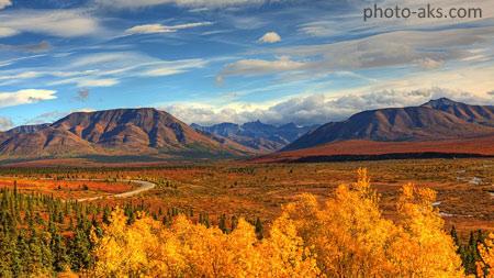 منظره دشت و کوهستان بسیار زیبا mountain nature field