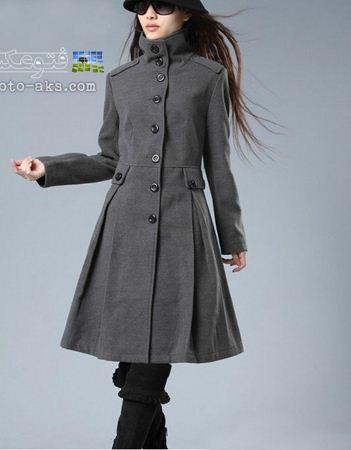 مدل اورکت بلند نوک مدادی new female overcoat