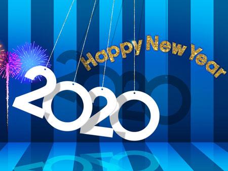 والپیپر سال نو 2020 wallpaper 2020 new year