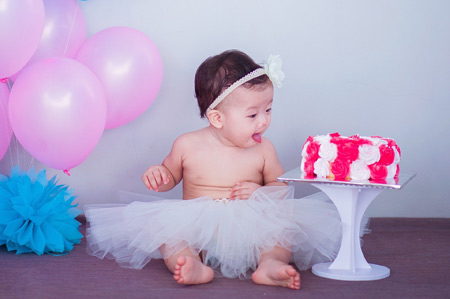 عکس کیک تولد نوزاد شکمو aks nozad shekamo