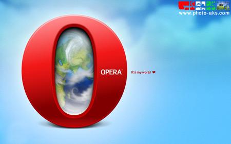 عکس های لوگو مرورگر اپرا opera browser logo