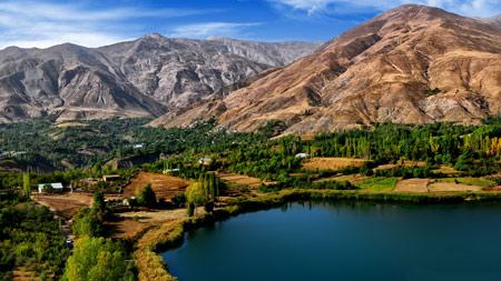 عکس دریاچه اوان الموت قزوین ovan lake qazvin