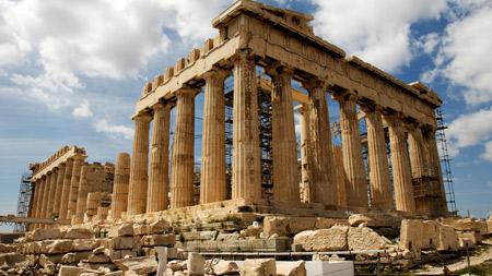 معبد پارتنون در آتن یونان parthenon in greece