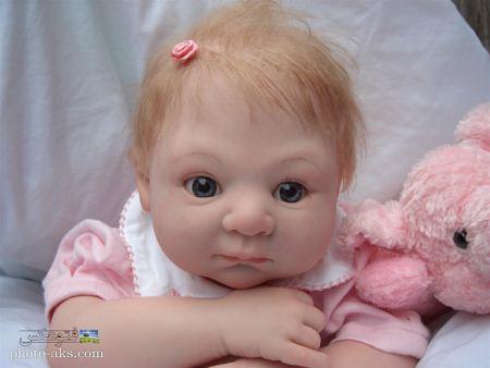 عکس عروسک واقعی بانمک aks arosak vagei