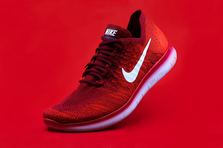 کفش اسپرت نایک اصل red nice sport shoes
