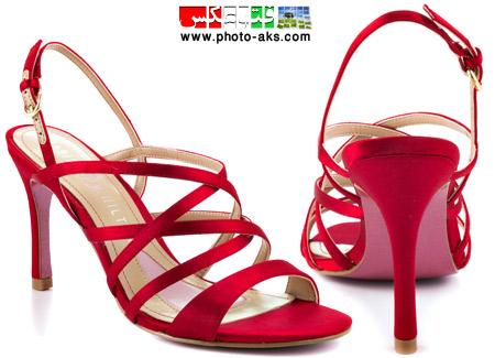 کفش مجلسی قرمز زنانه red prom shoes women