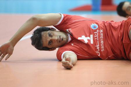 سعید معروف در حال تمرین saeed marouf tamrin
