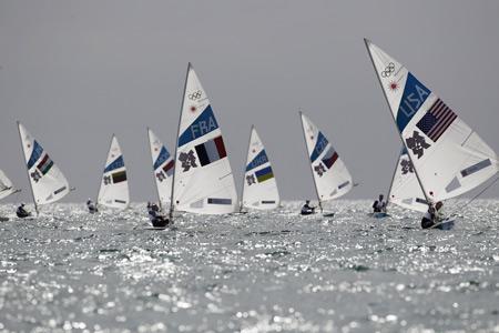 مسابقات قایق بادبانی المپیک sailing olumpics wallpaper