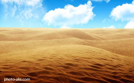 بیابان های شنی sandy desert