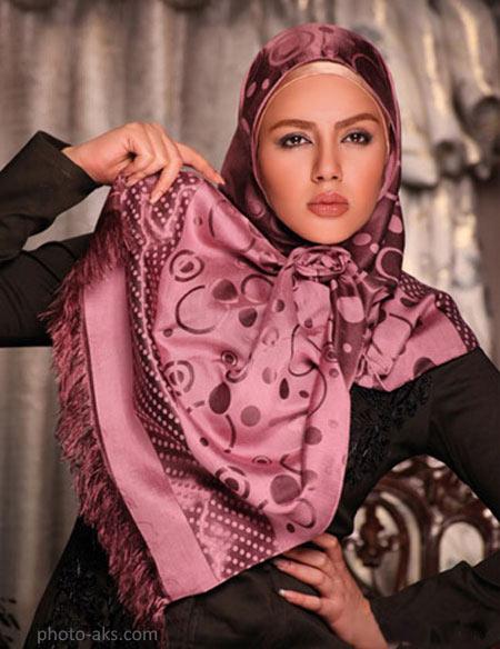 مدل شال و روسری شیک 2016 model shal va rosari
