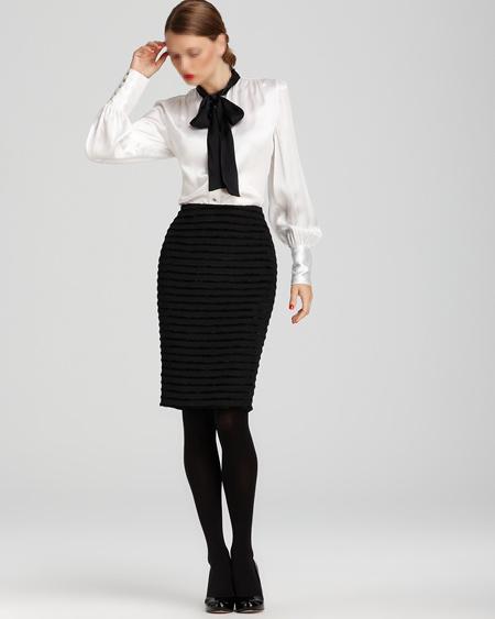 مدل های بلوز دامن مجلسی خارجی skirt and blouse models