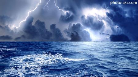 دریایی طوفانی storm sea