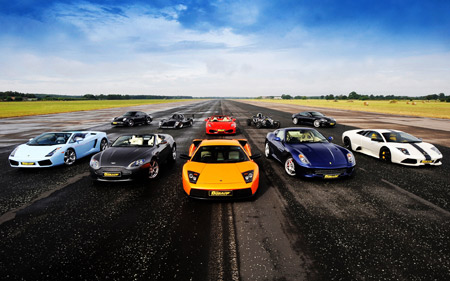 مسابقه ماشین های سوپر اسپرت supercars wallpapers