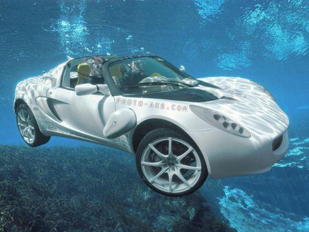 ماشین مدرن شناگر swimmer car modern