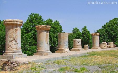 معبد آناهیتا در کنگاور کرمانشاه temple anahita kermanshah