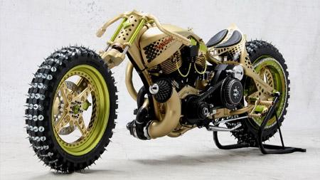 موتورسیکلت مخصوص یخ ice racer motorcycle