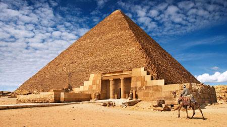عکس اهرام ثلاثه مصر باستان egyptian pyramids
