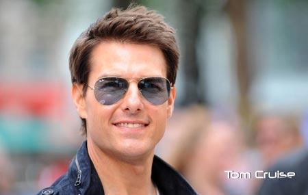 عکس تام کروز با عینک دودی tom cruise glass