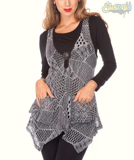 مدل لباس تونیک توری دخترانه tonik tori dokhtarane