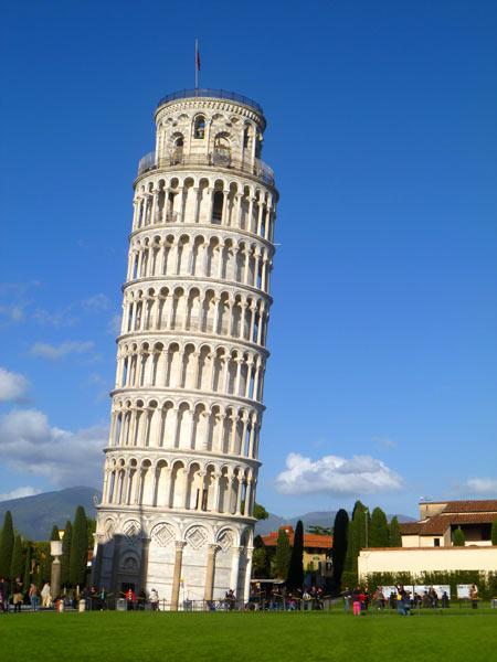 عکس برج کج پیزا ایتالیا tower of pisa italy