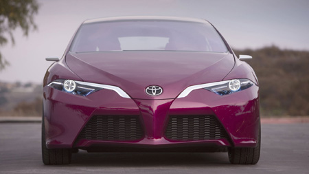 عکس ماشین تویوتا هیبریدی toyota hybrid concept